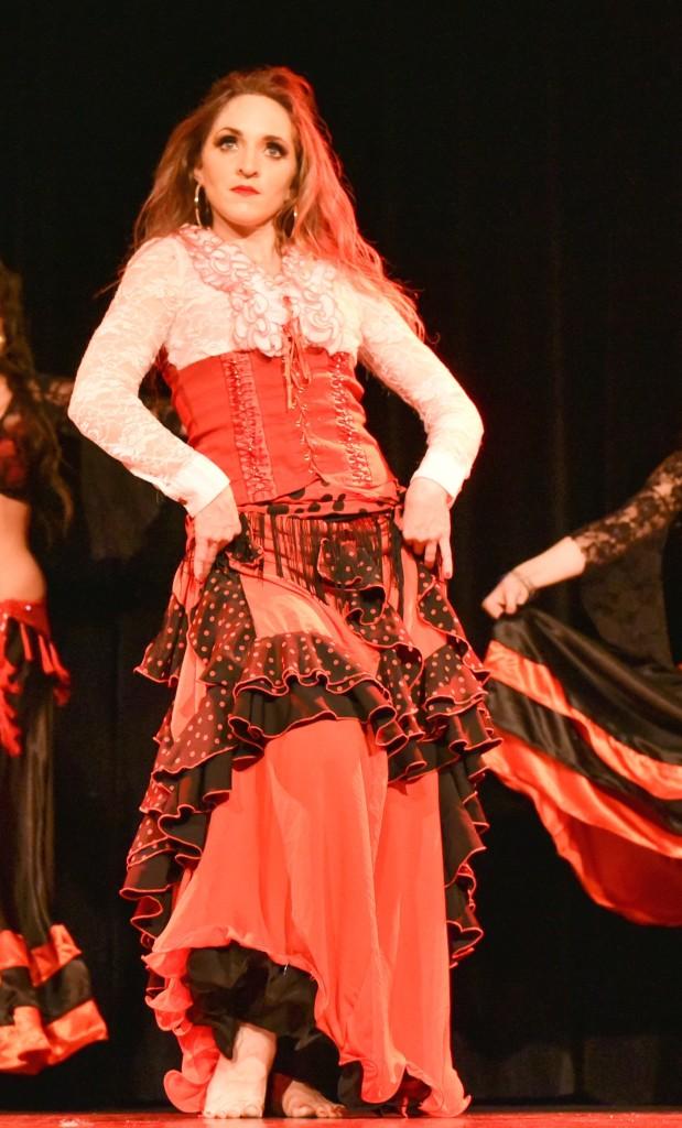 Compagnie Roses des Sables - Rouge Passion - arabo andalou