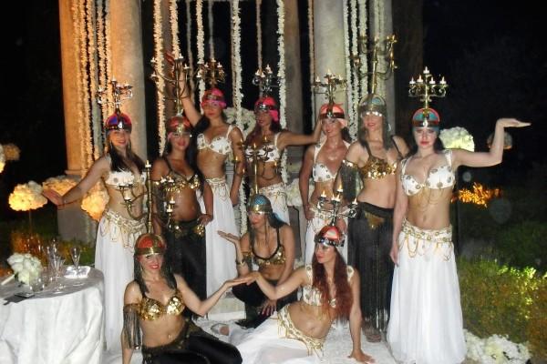 Compagnie Roses des Sables - celebrations - mariage oriental