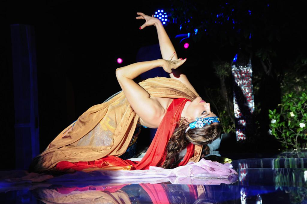 Compagnie Roses des Sables - soirées à thème - 1001 nuits - danse des 7 voiles