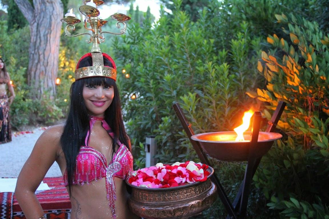 Compagnie Roses des Sables - soiree a theme - 1001 nuits - accueil 4