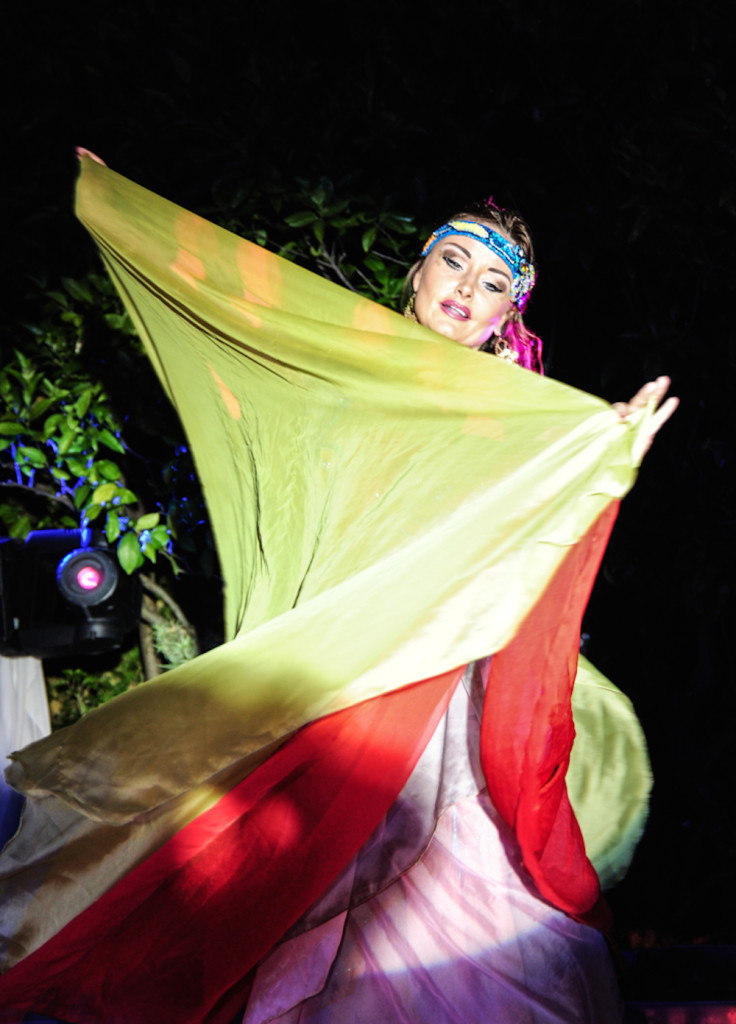 Compagnie Roses des Sables - soiree a theme - 1001 nuits - danse des 7 voiles