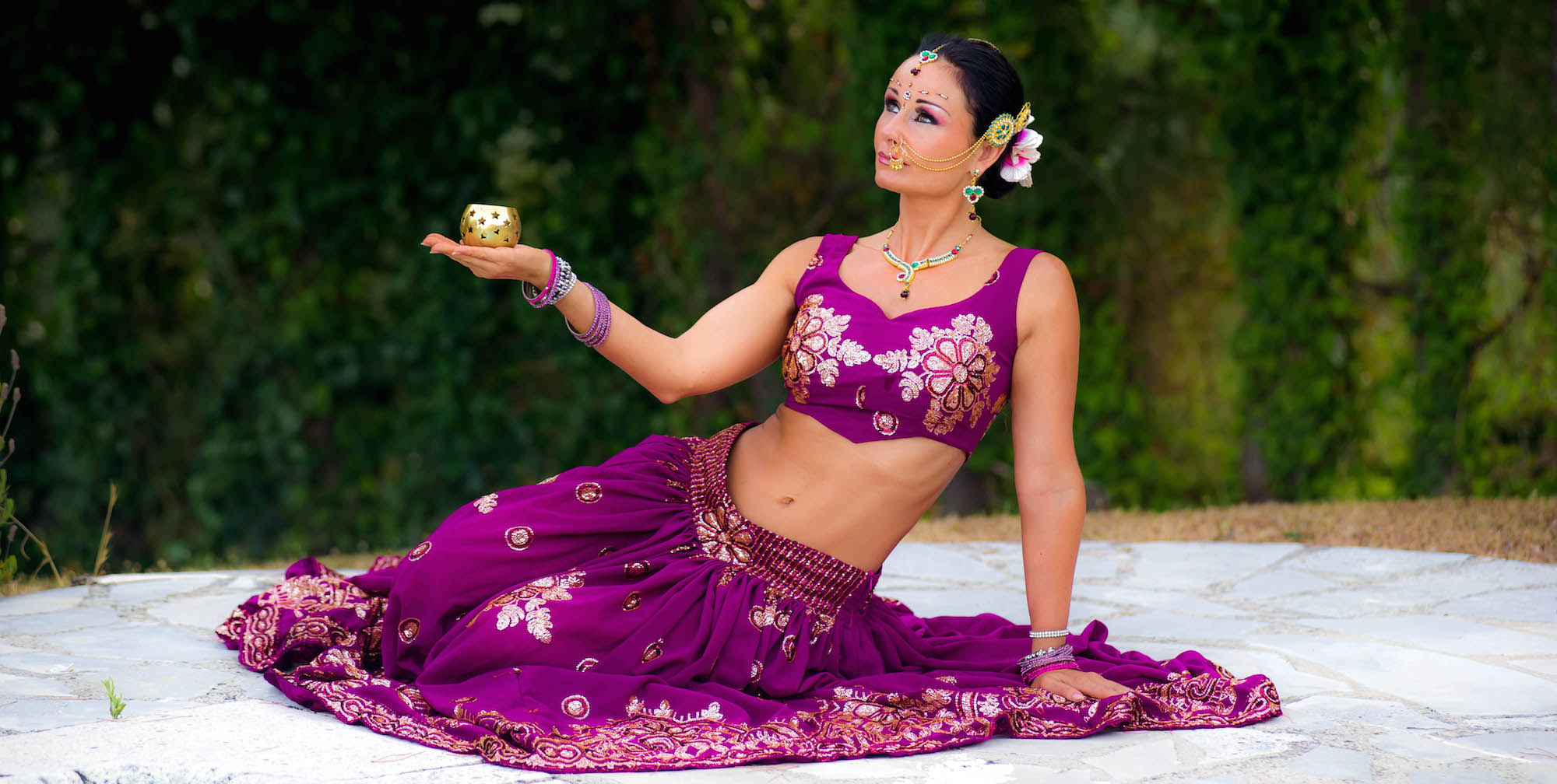 Compagnie Roses des Sables - soiree a theme-- bollywood fever - 2