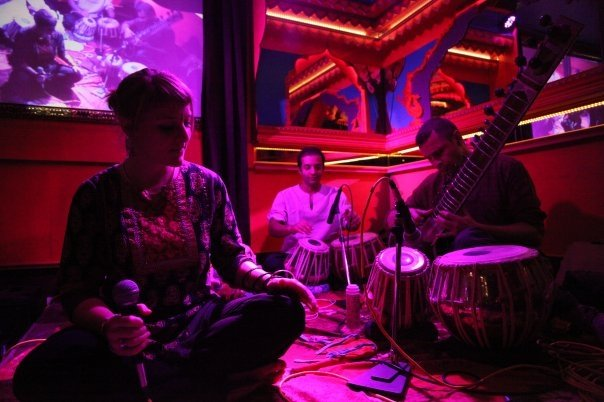 Compagnie Roses des Sables - soiree a theme-- bollywood fever - musiciens