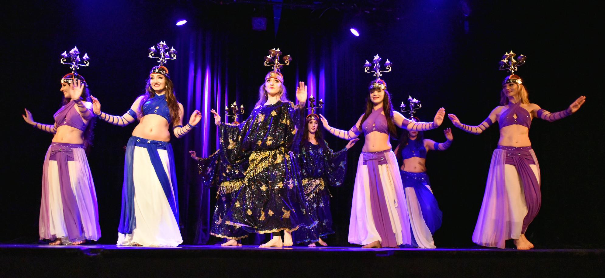 Compagnie Roses des Sables - spectacle - danse orientale - baladi