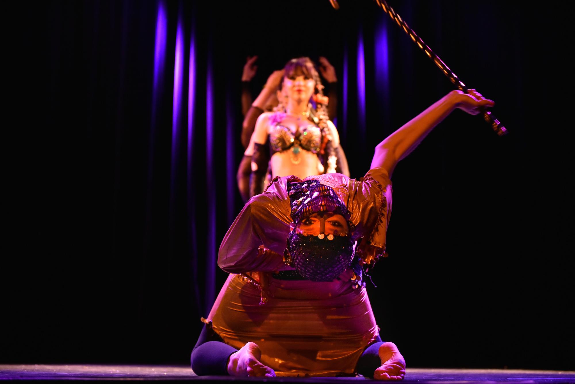 Compagnie Roses des Sables - spectacle - danse orientale - saidi