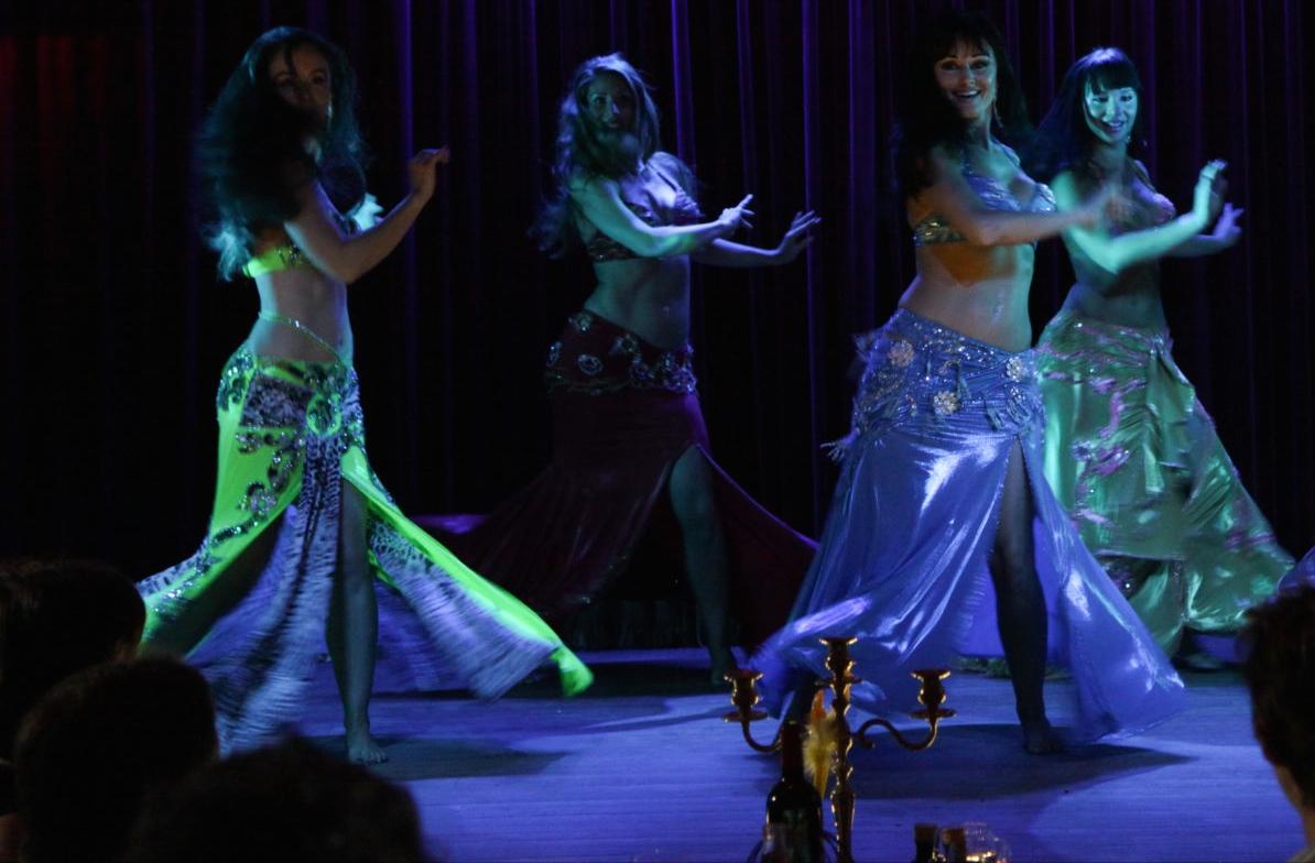 Compagnie Roses des Sables - spectacles - cabaret oriental