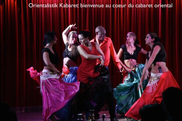 Compagnie Roses des Sables - spectacles - spectacle de danse orientale et bollywood - cabaret