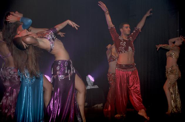 Compagnie Roses des Sables - spectacles - le voyage de yasmina - conte dansé - le sultan