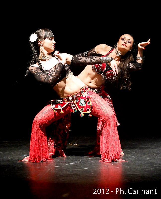 Compagnie roses des sables - animation - tribal fusion duo