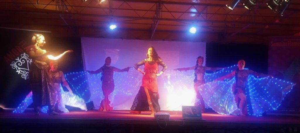 spectacle sur la route du flamenco ouverture