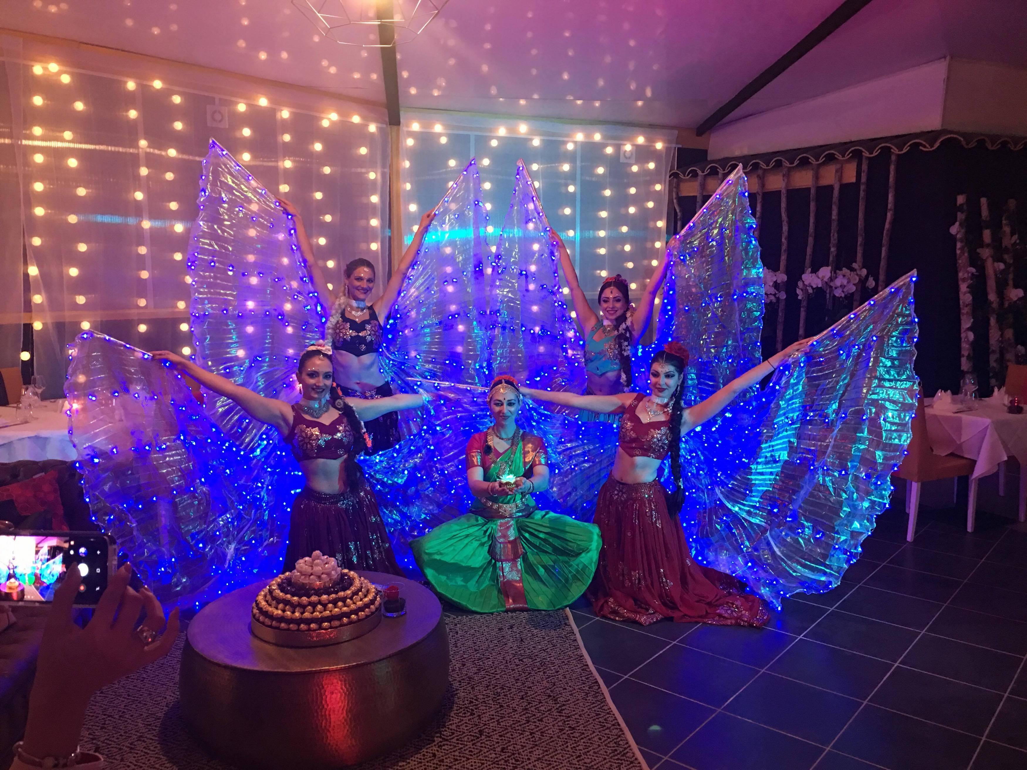inauguration d'un restaurant à mougins Bollywood