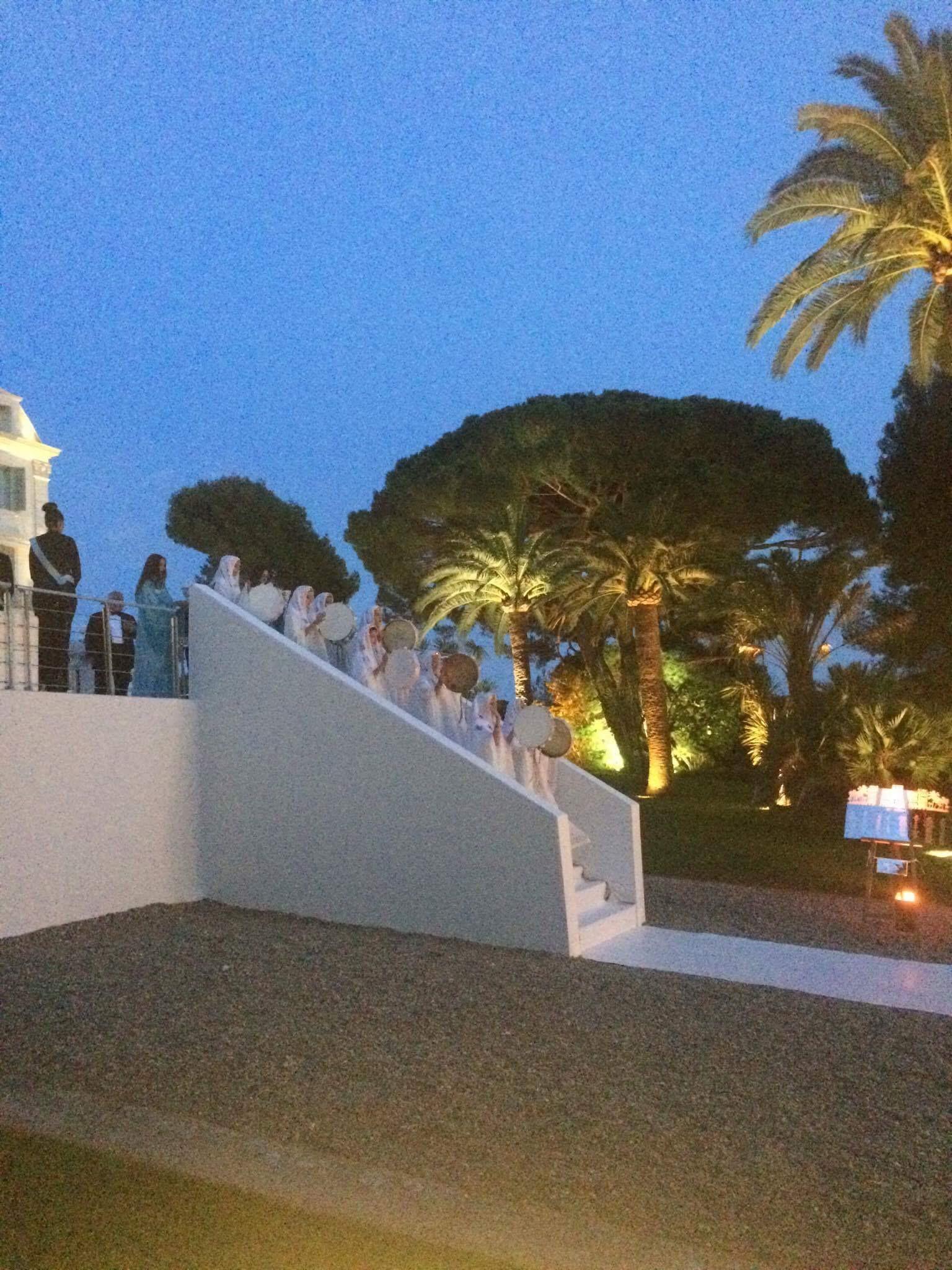 mariage avec zaffa saoudienne sur la côte d'azur